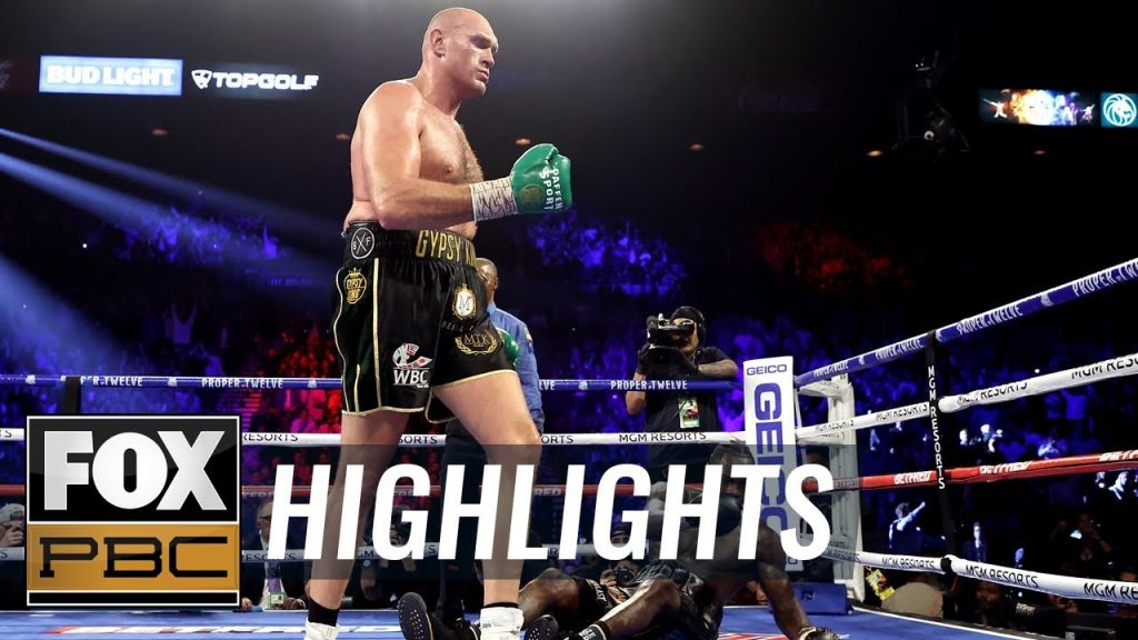 HIGHLIGHTS: WBC Heavy Weight Championship Tyson Fury Defeats Deontay Wilder