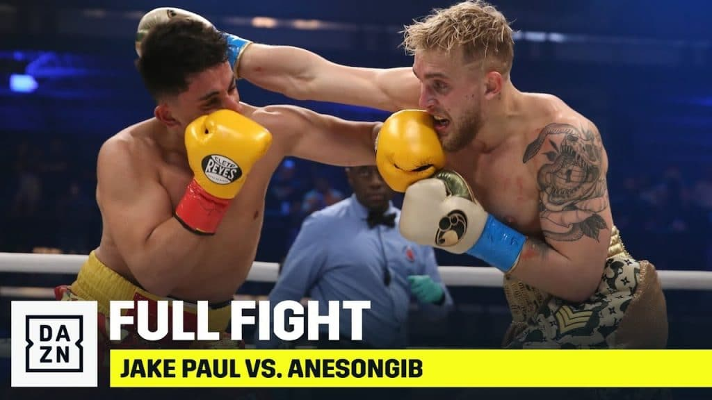 Jake Paul Takes The Win On The First Round