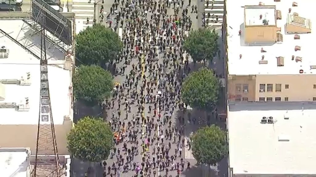 BLACK LIVES MATTER! Protests held in Southern California