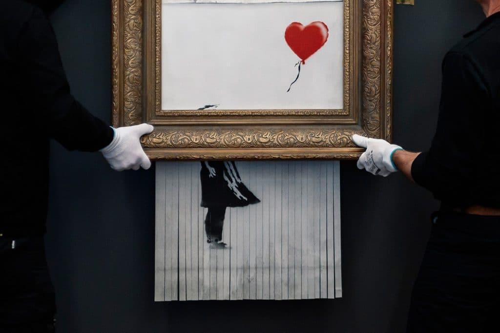 Banksy's Shredded Artwork Resold for $25.4Million USD